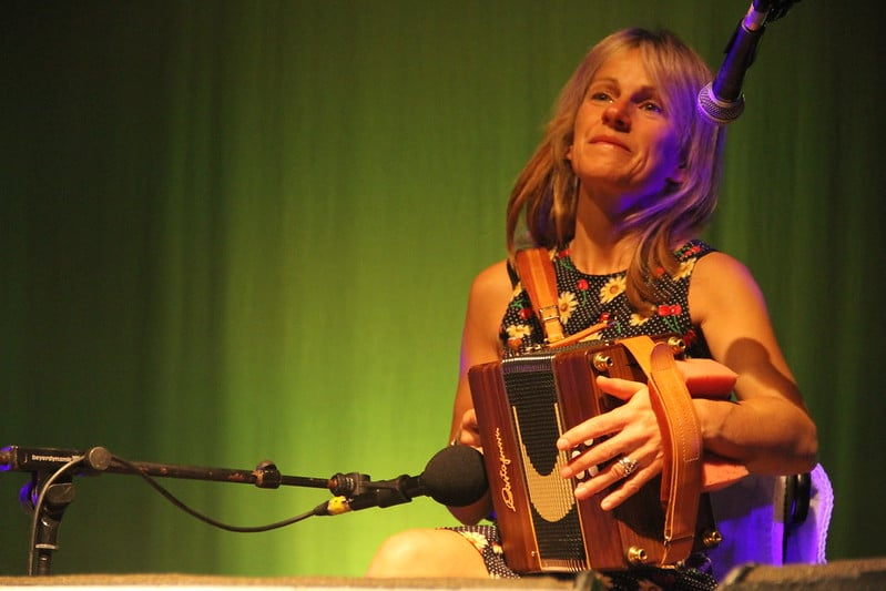 Sharon Shannon - a well-respected charity activist