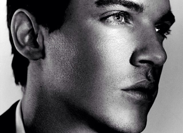 Jonathan Rhys Meyers - also well known as a model