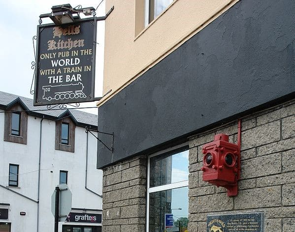 County Roscommon has one pub per 417 people.