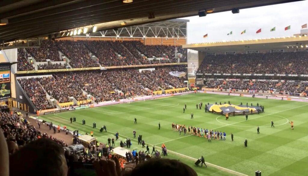Molineux Stadium in Wolverhampton.