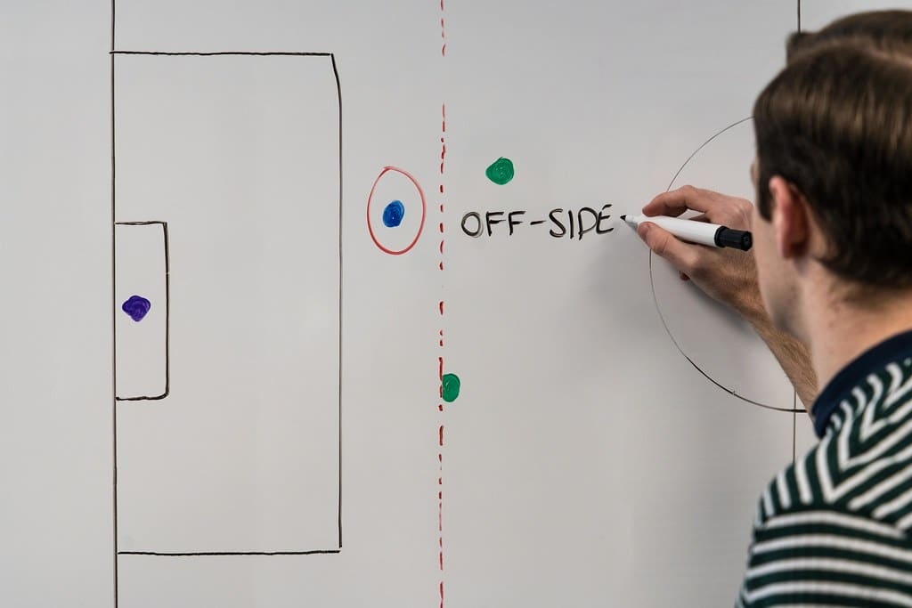Gaelic football does not have an offside rule.
