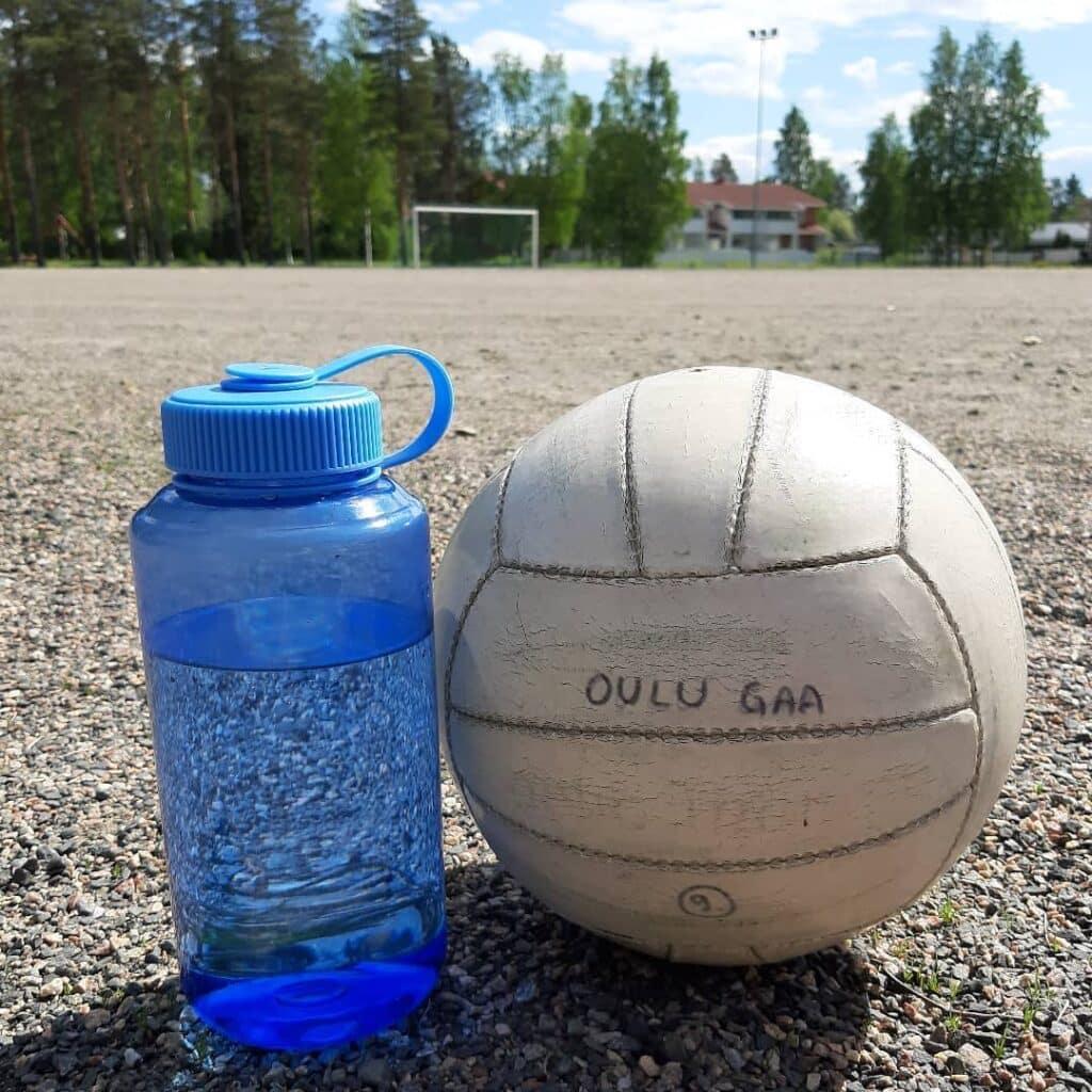 The Finnish love Gaelic football.
