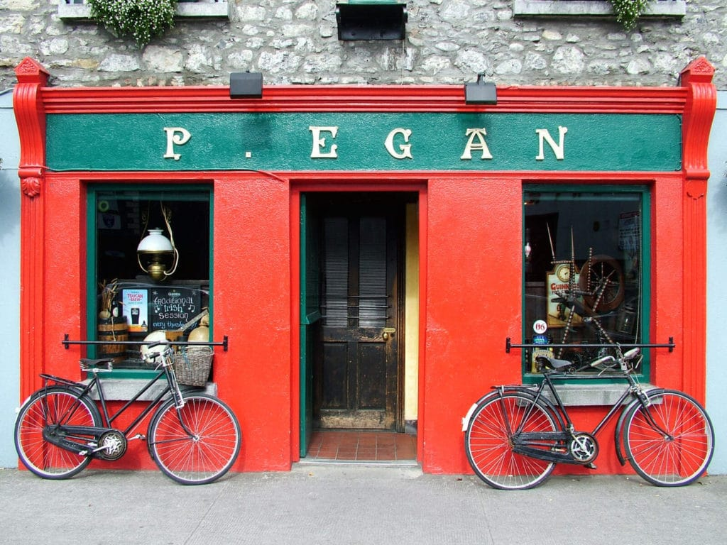 County Longford and County Westmeath are joint counties in Ireland with the most pubs per person.