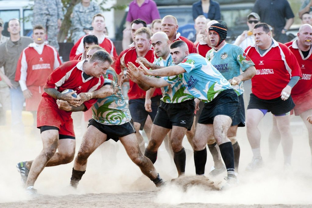 Next on our facts about Gaelic football is that rugby was its main competitor.