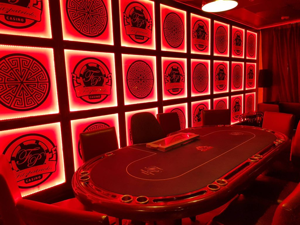 Fitzpatrick's Casino in Limerick is one of the best poker rooms in Ireland.
