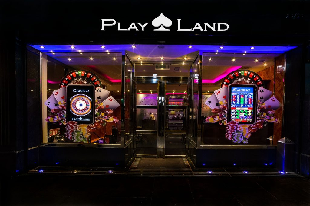 Playland Casino is Dublin's electronic casino.