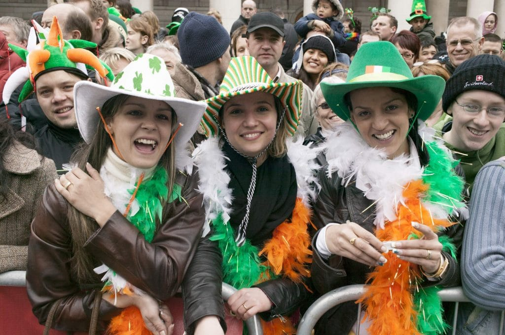 St Patrick's Day tops our list of Irish cultural traditions.