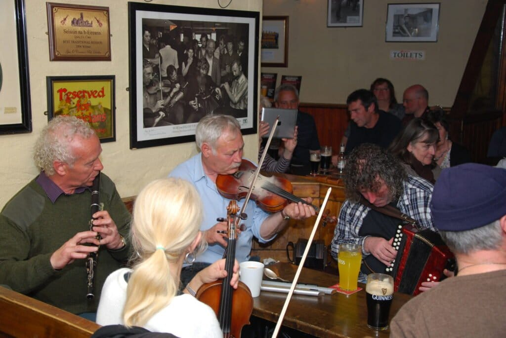 Traditional music is one of the main Irish cultural traditions.