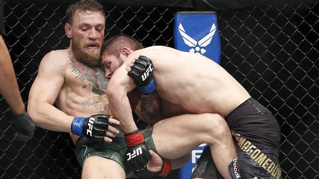 McGregor v Nurmagomedov.