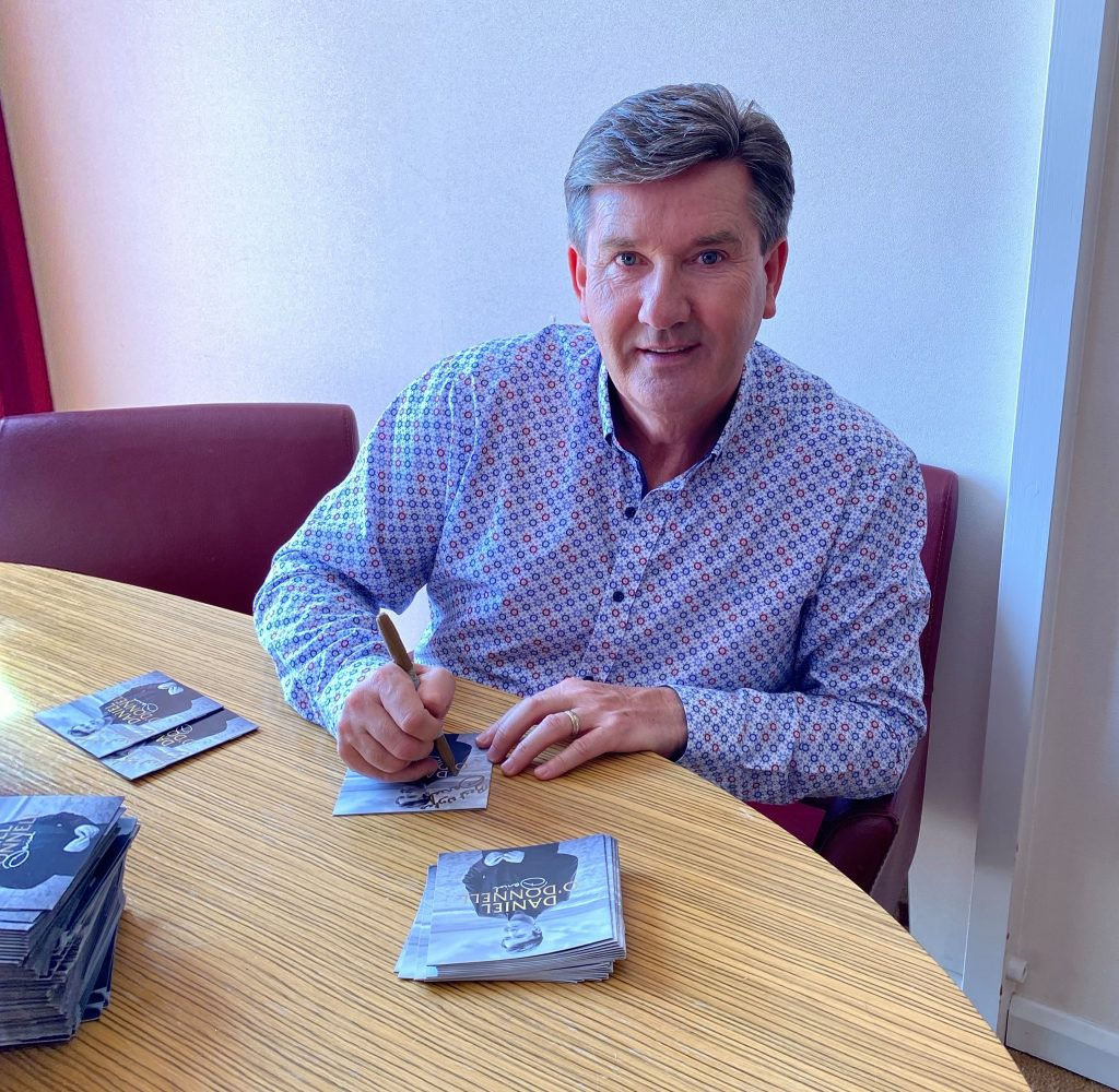If you dropped out of college, this is one of the things you might have in common with Daniel O'Donnell.
