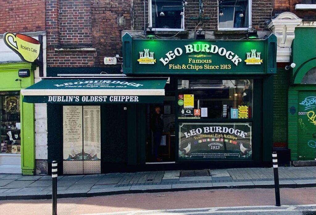 Leo Burdock is Dublin's oldest chipper.