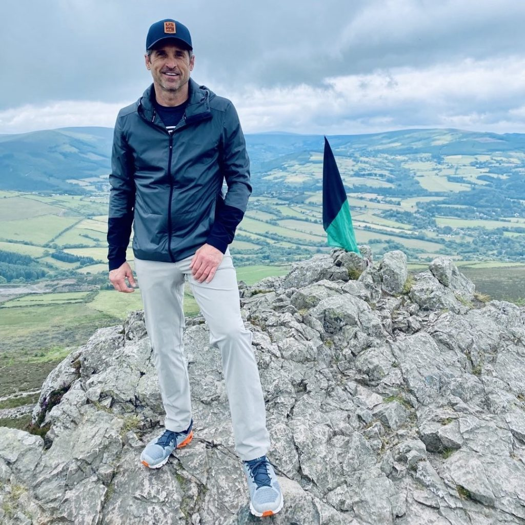 Patrick Dempsey was spotted filming in Ireland earlier this month.