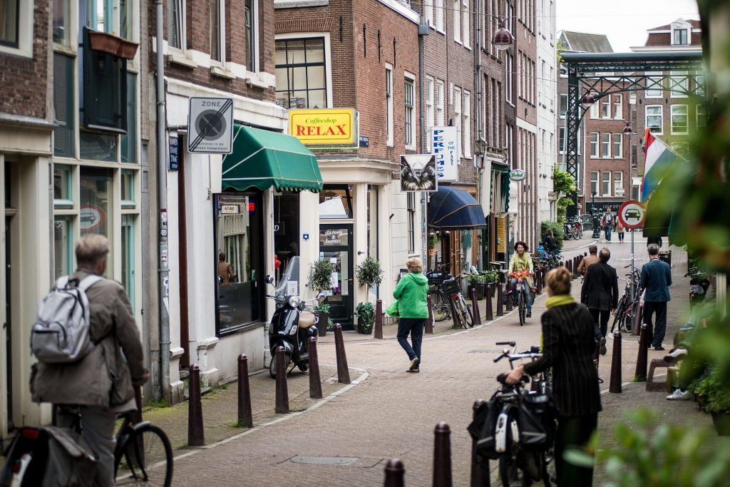 Amsterdam tops the list of coffee obsessed cities.