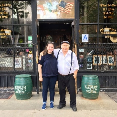 The touching story of the Irish bartender in N.Y.C.