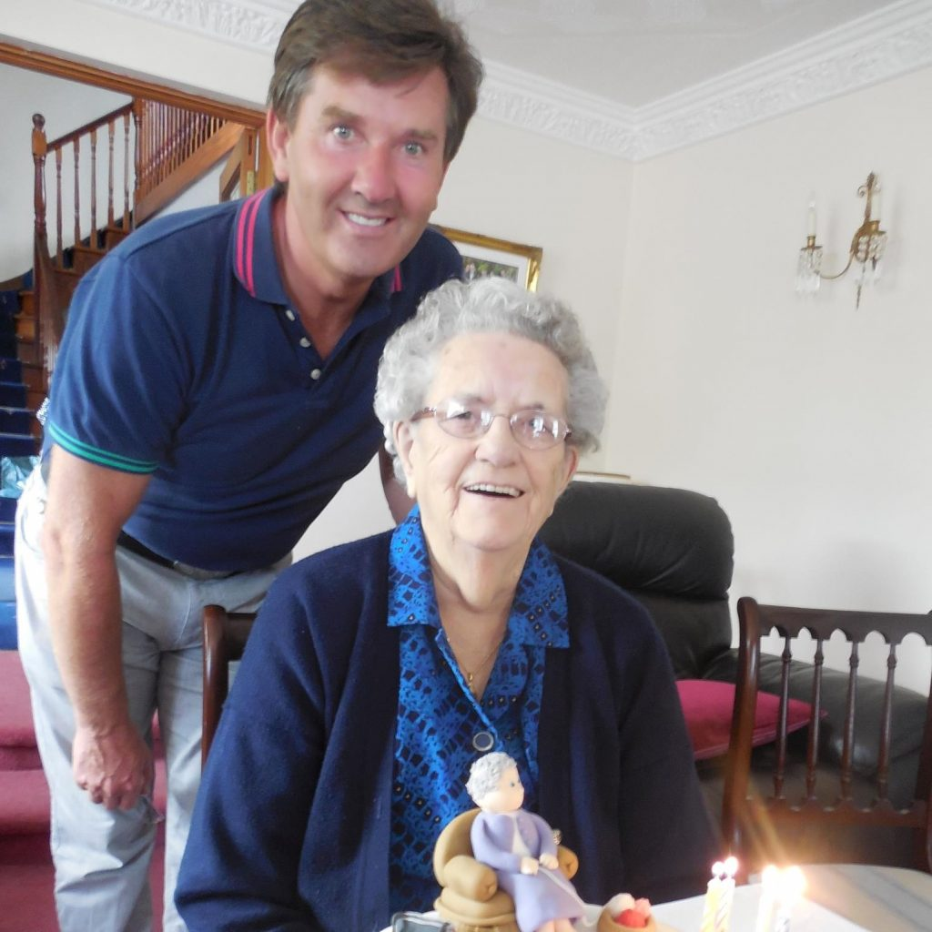 One of the things you might have in common with Daniel O'Donnell is loving your mammy.